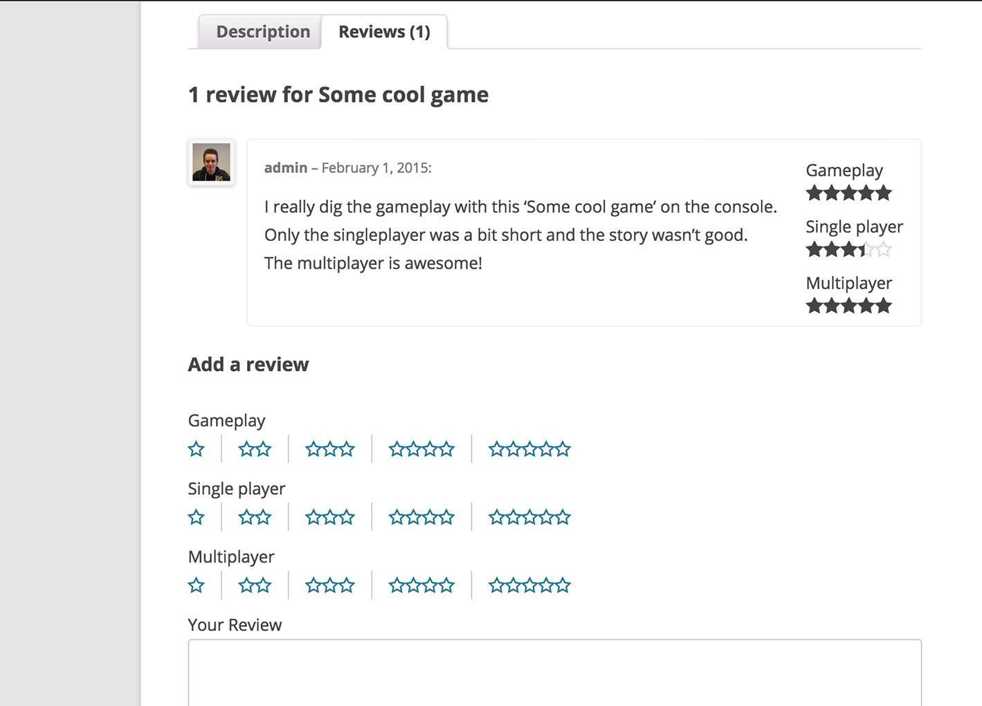 Reviews and description