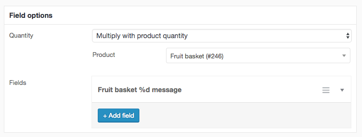 WooCommerce repeating checkout fields - Ace Plugins