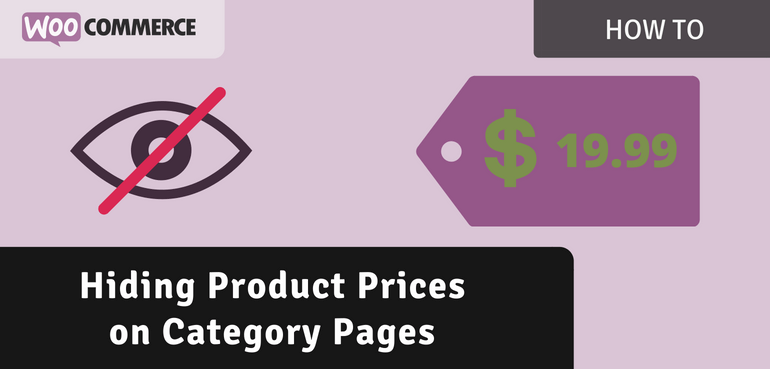 Hide Prices on the Category Pages