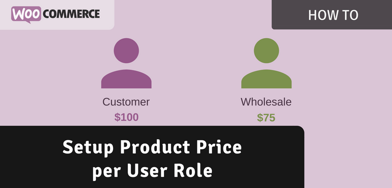 Setup Product Price per User Role