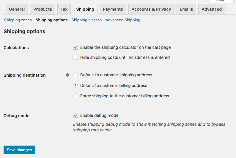 Purge the WooCommerce Shipping Cache - Ace Plugins